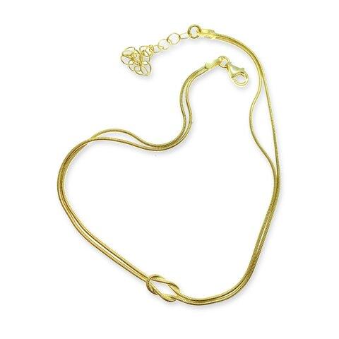Gold Düğüm Halhal