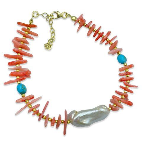 Pembe Mercan / İnci Halhal